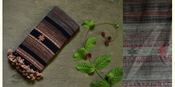 Beyond The Basics ✜ Handwoven Bhujodi Cotton & Tussar Silk Stole (Three Options) ✜ 20G