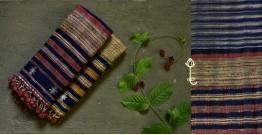 Beyond The Basics ✜ Handwoven Bhujodi Cotton & Tussar Silk Stole (Two Options) ✜ 24
