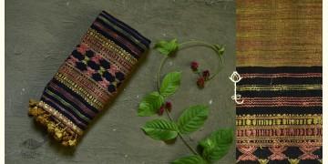 Beyond The Basics ✜ Handwoven Bhujodi Cotton & Tussar Silk Stole ✜ 25
