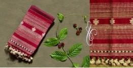 Beyond The Basics ✜ Handwoven Bhujodi Cotton & Tussar Silk Stole ✜ 26