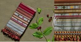 Beyond The Basics ✜ Handwoven Bhujodi Kala Cotton Stole ✜ 17D