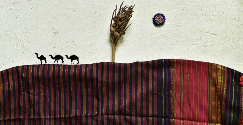 shop online Cotton bhujodi handwoven cotton dupatta 2