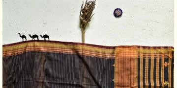Breezy Mangroves ❧ Handwoven Bhujodi Cotton Dupatta ☙ 3