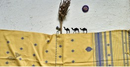 Breezy Mangroves ❧ Handwoven Bhujodi Cotton Dupatta ☙ 9