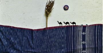 Breezy Mangroves ❧ Handwoven Bhujodi Cotton Dupatta (Two Options) ☙ 5