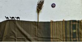 Breezy Mangroves ❧ Handwoven Bhujodi Cotton Tussar Silk Dupatta ☙ 12
