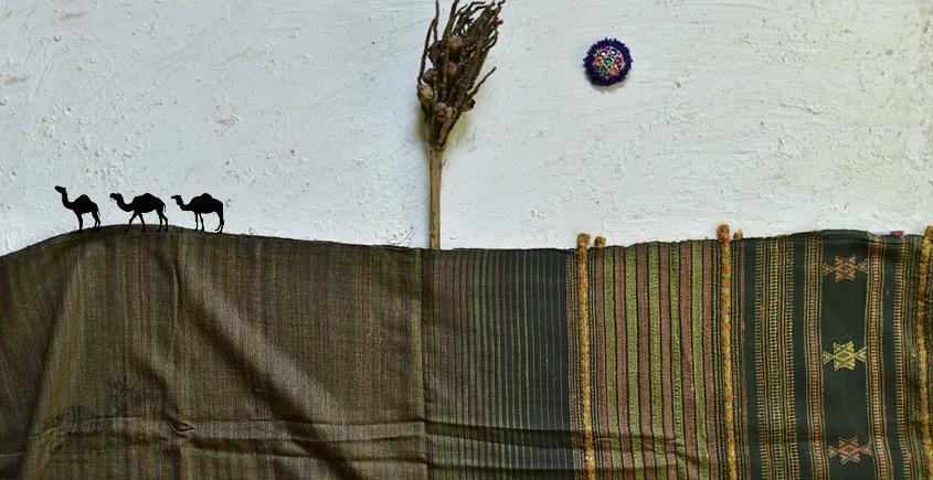 shop online Bhujodi Cotton Tussar Silk Dupatta 12