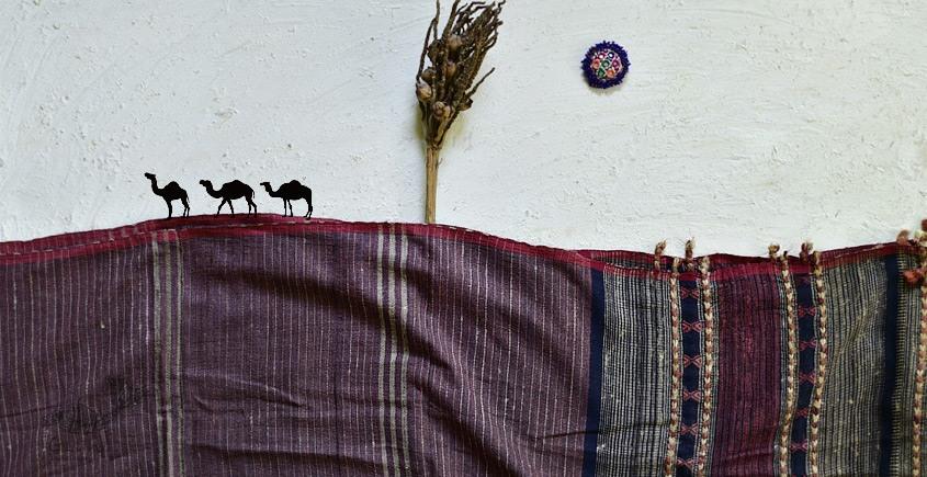 shop online Bhujodi Cotton Tussar Silk Dupatta 14