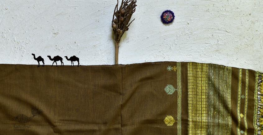 shop online Bhujodi Cotton Tussar Silk Dupatta  11