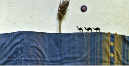 Breezy Mangroves ❧ Handwoven Bhujodi Cotton Tussar Silk Dupatta (Three Options) ☙ 8