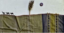 Breezy Mangroves ❧ Handwoven Bhujodi Cotton Tussar Silk Dupatta (Two Options) ☙ 14AB