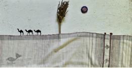 Breezy Mangroves ❧ Handwoven Bhujodi Kala Cotton Dupatta ☙ 7