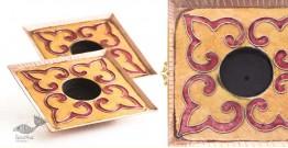 Ekibeki ❋ Copper Square Oil Tealight Holder (Set of 2) ❋ 3