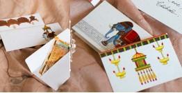 Daak ⚘ Recycled Paper Envelopes (Set of 12 Assorted Envelopes & 12 Gift Cards)
