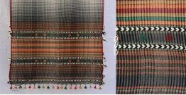 Elegance from the grasslands ~ Handwoven Stole ~ 1