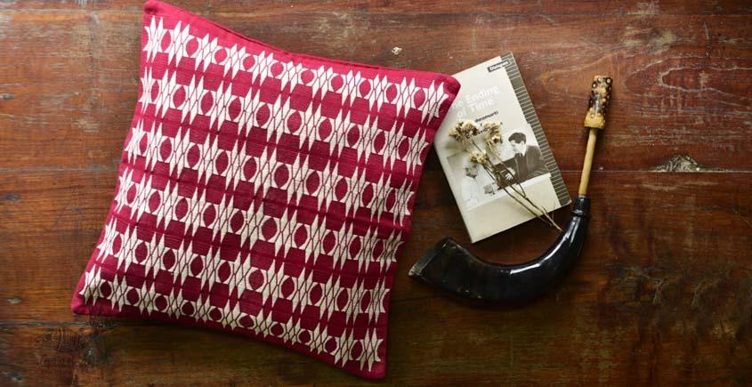 shop online handmade naga loinloom cotton Cushion Cover