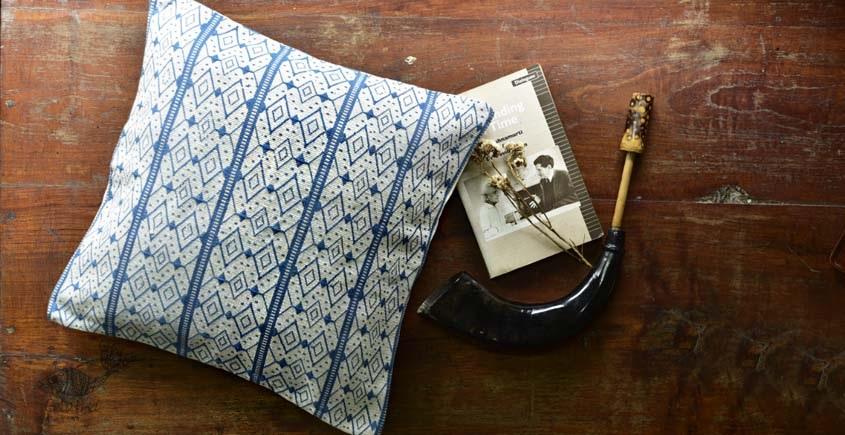 buy online nagaland loinloom cotton Cushion Cover