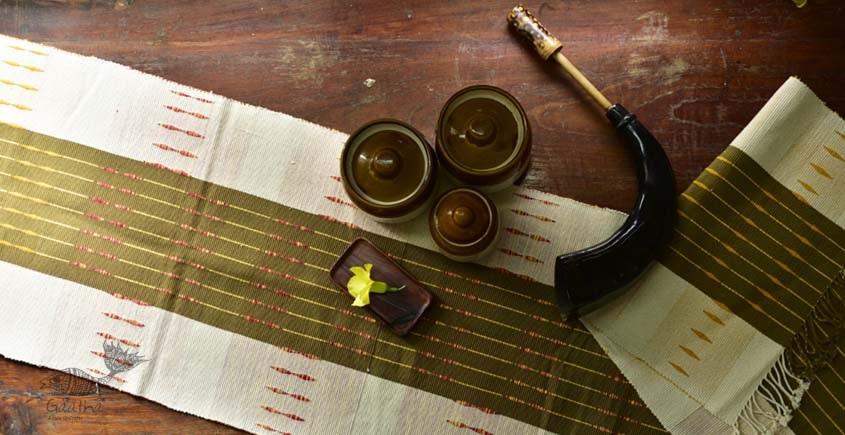 shop online nagaland loinloom cotton Table Runner