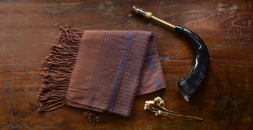 shop online nagaland loinloom cotton boho stole