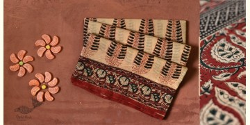 Eshana | Gaamthi Print . Natural Color . Saree | 7