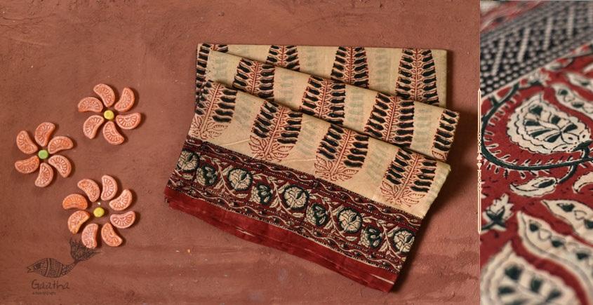 Eshana | Gaamthi Print . Natural Color . Saree | 7