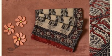 Eshana | Gaamthi Print . Natural Color . Saree |  8