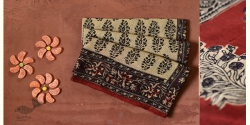 Eshana | Gaamthi Print . Natural Color . Saree |  9