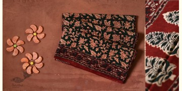 Eshana | Gaamthi Print . Natural Color . Saree | 11