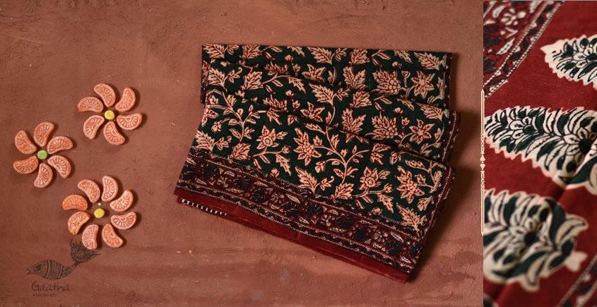 Eshana | Gaamthi Print . Natural Color . Saree | 11