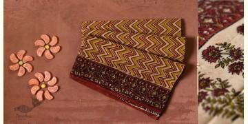Eshana | Gaamthi Print . Natural Color . Saree | 5