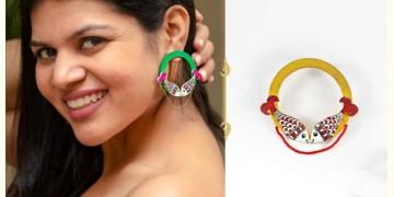 Fudakti ♥ Jalpari Madhubani Handcrafted Wood Earring ♥ 3