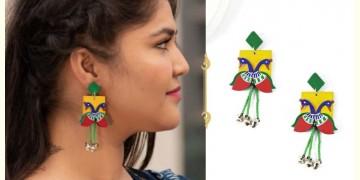 Fudakti ♥ Meraki Madhubani Handcrafted Earring ♥ 19