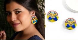 Fudakti ♥ Mayuri Madhubani Handcrafted Earring ♥ 20