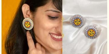 Fudakti ♥ Kalpi Madhubani Wooden Earring ♥ 22