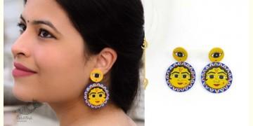 Fudakti ♥ Vasudha Madhubani Wooden Earring ♥ 23