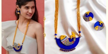 Fudakti ♥ Neelpari Madhubani Handcrafted Necklace Set ♥ 33