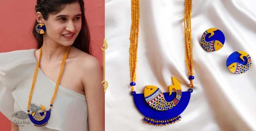 Fudakti ♥ Neelpari Madhubani Handcrafted Necklace Set ♥ 33
