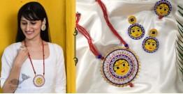 Fudakti ♥ Kalpi Madhubani Handcrafted  Necklace Set ♥ 36