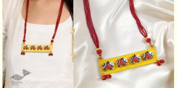 Fudakti ♥ Meera Madhubani Handcrafted Elephant  Necklace ♥ 38