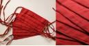 Be safe & stylish ✜ Mul Cotton Layered Mask ( Set of 4 ) ✜ I