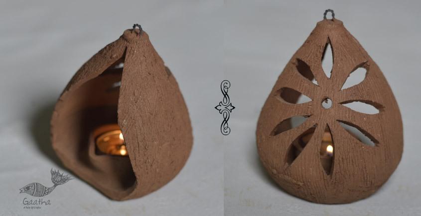 Terracotta Handmade Clay diya hanging