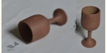 Maati Ka Kaam ‡ Terracotta Wine Glasses (Set of Two) ‡ 1