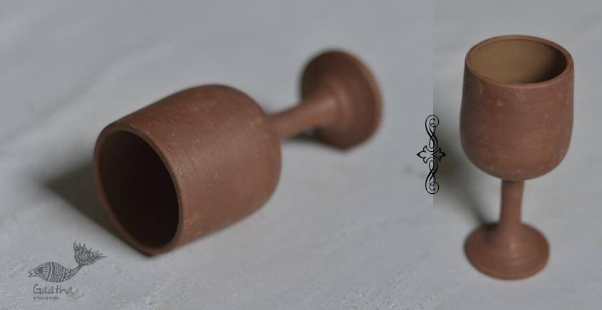 Terracotta Handmade Clay Wine Glasses