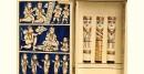 कथनिक ☀ A Wooden Shrine ( Blue - 41 cm) ~ 134