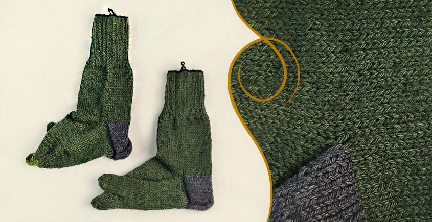 Igloo ☃ Wool Foot Warmers  ☃ 17