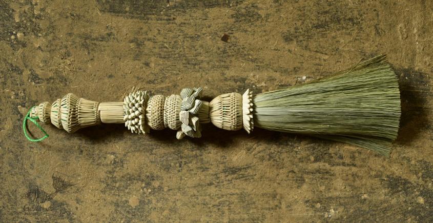 designer date leaves broom - wall handing Jhadu