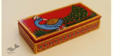 Wooden box ☀  Peacock - 139