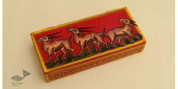 Wooden box ☀  Deer - 140