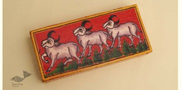 Wooden box ☀  Cow - 138