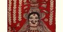 Sacred cloth of the Goddess- Nageshvari Maa ( 60 x 68 )